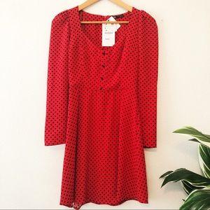 NWT Zara Red Dress